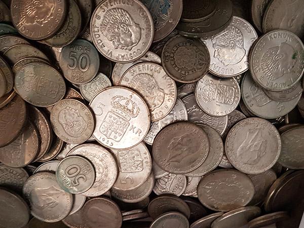 svenska mynt värde skilling